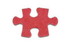 Jigsaw Puzzle Piece. On White Background Royalty Free Stock Images