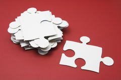 Jigsaw Puzzle Piece Stock Image