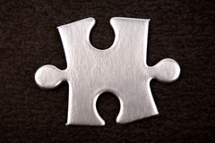 Jigsaw puzzle piece Stock Photography