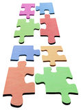 Jigsaw Puzzle Pieces Royalty Free Stock Photo