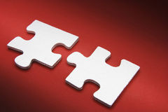 Jigsaw Puzzle Pieces Stock Images