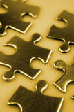 Jigsaw puzzle pieces Stock Photography