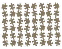 Jigsaw puzzle pieces background Stock Image