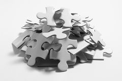 Jigsaw Puzzle Pieces Royalty Free Stock Image