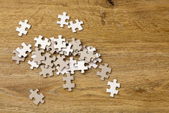 Jigsaw Puzzle Pieces Royalty Free Stock Photography