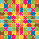 Jigsaw Puzzle Pieces Vector Royalty Free Stock Images