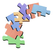 Jigsaw Puzzle Pieces Stock Image