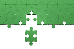 Jigsaw puzzle. Jigsaw pieces with white background vector illustration