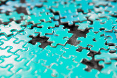 Jigsaw puzzle Royalty Free Stock Photo