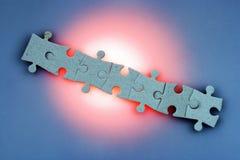 jigsaw puzzle połączenia Obrazy Stock