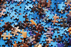 Jigsaw puzzle Royalty Free Stock Image