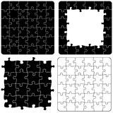 Jigsaw Puzzle Variations/eps Stock Images