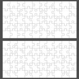 Jigsaw puzzles. With 50 pieces Stock Photo