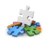 Jigsaw puzzles Stock Photos