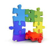 Jigsaw puzzles Royalty Free Stock Images
