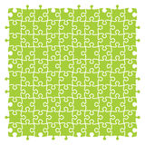 Jigsaw puzzles. Fully editable vector jigsaw puzzles Stock Photography