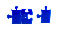 Jigsaw puzzles Stock Image