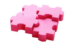 Jigsaw Puzzles Concept Stock Photo