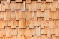 Jigsaw puzzles style wood pattern wall Stock Images