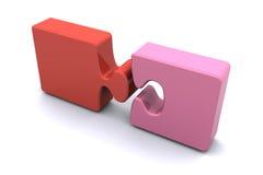 Jigsaw Success Stock Image