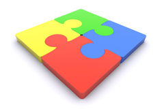 Jigsaw / Teamwork Royalty Free Stock Photo