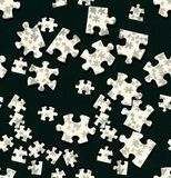 Jigsaw wallpaper Royalty Free Stock Photo