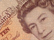 jigsaw waluty Zdjęcie Stock