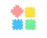 Jigsaw on white,Puzzle. Royalty Free Stock Image