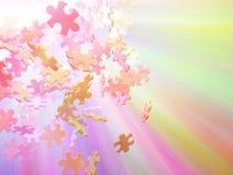 jigsawspectrum Arkivfoto