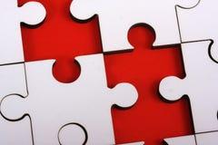 Jigsw a macroistruzione Fotografia Stock