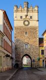 Jihlava Gate Czech republic, Jihlava, fortification gate Royalty Free Stock Photography