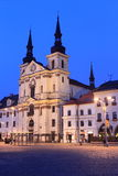 Jihlava at sunset Stock Photo