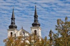 Jihlava, Tsjechische Republiek royalty-vrije stock fotografie