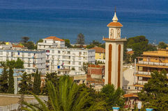 Jijel city Royalty Free Stock Photo