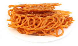 Jilapi or reshmi jalebi of Southeast Asia Stock Photography