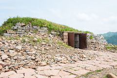 JILIN, CHINA - Jul 27 2015: King Gwanggaeto Tomb(King Haotai Tom Stock Photo