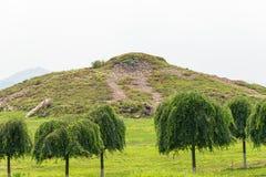 JILIN, CHINA - Jul 27 2015: King Gwanggaeto Tomb(King Haotai Tom Stock Images