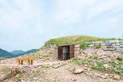 JILIN, CHINA - Jul 27 2015: King Gwanggaeto Tomb(King Haotai Tom Royalty Free Stock Image
