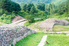 JILIN, CHINA - Jul 27 2015: Wandu Mountain City (UNESCO World He Stock Images