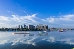 Jilin city building. Eastphoto, tukuchina, Jilin city building, City, scenery Stock Photography