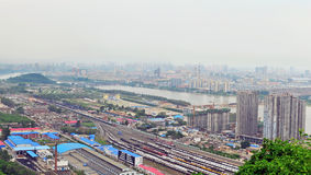 Jilin city panorama Stock Image