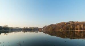 Jilin moon lake scenery Royalty Free Stock Photos