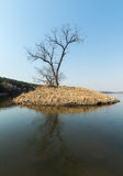 Jilin moon lake scenery Stock Photography