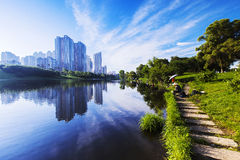 Jilin Park View Royalty Free Stock Images