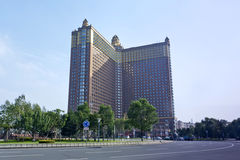 Jilin Petroleum Building. Eastphoto, tukuchina, Jilin Petroleum Building, City Landmark, foreign country Stock Photography