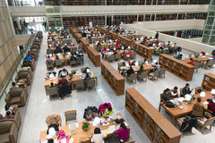 Jilin Province library Stock Photos