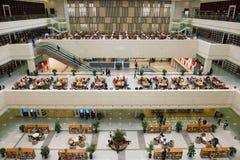 Jilin-Provinzbibliothek stockfotografie