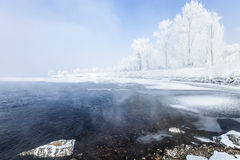 Jilin Rime Stock Photo