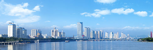 Jilin Songhua cityscapes. Jilin Songhua cityscapes, City, scenery Royalty Free Stock Photos