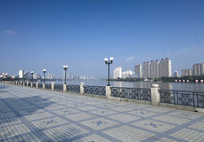 Jilin Songhua River Bund. Eastphoto, tukuchina, Jilin Songhua River Bund, City, scenery Stock Image
